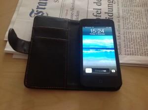 iPhone 5 im Etui